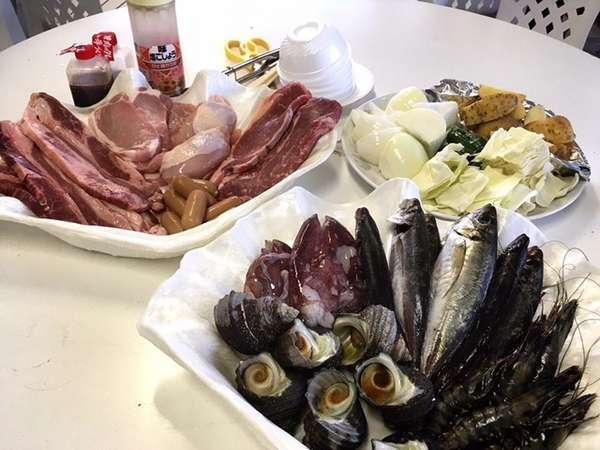 海鮮BBQ(例)