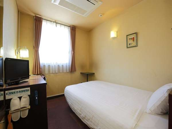 【シングルルーム】ビジネスや一人旅に便利なお部屋です。