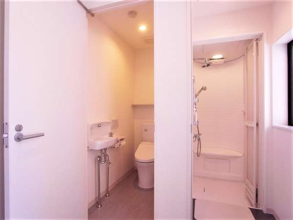 トイレ、シャワーユニット
