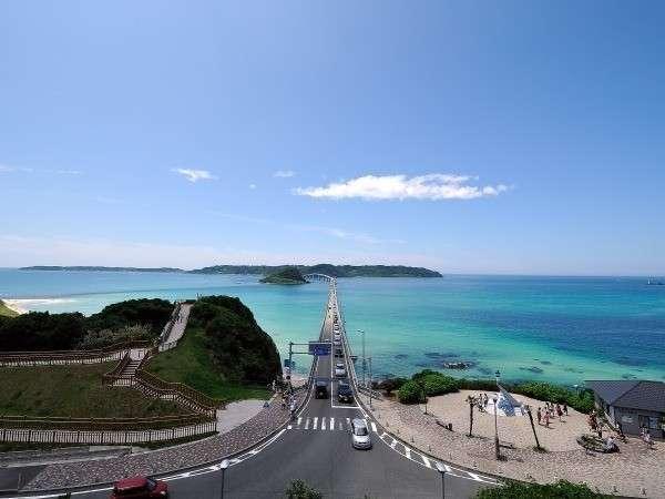 【角島】青い海にかかる大橋で最高のドライブ!