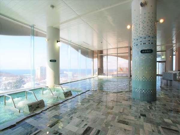 【知床第一ホテル】【風呂クチコミ高評価】国内唯一の天然翡翠大浴場!バイキングも◎