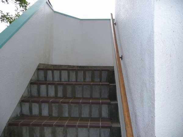 【階段】すみません。5階建てで階段なんです。