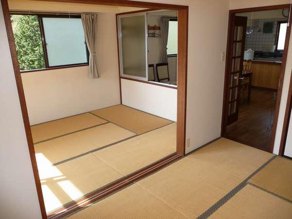 【和室】2LDKの明るい和室です