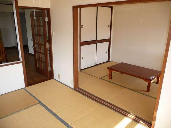 【和室】6畳の和室が2部屋あります。