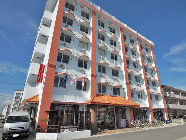 【外観】ホテル・チューリップ石垣島へようこそ♪