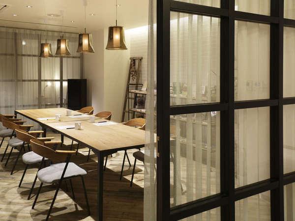 ライブラリーコーナーを会議室としてご利用の場合は、レストランのオーダーも承ります。