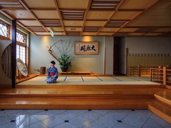 和情緒溢れる充実の館内施設で日本の温泉宿を満喫