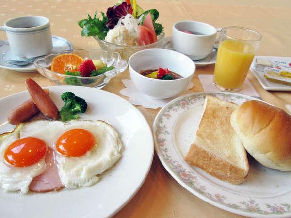 *選べる朝食例/洋食。朝はパン派の方はコチラ!ビタミンたっぷり♪