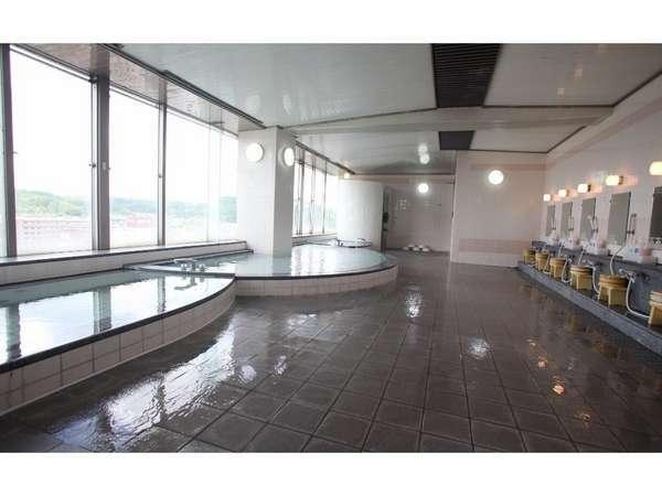 ●男性浴場●日田の街を一望できる展望浴場。【ジャグジー、ジェットバス、サウナ】付!リラックスtime★