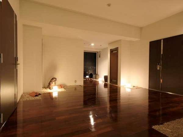 1フロア2部屋の贅沢な造り。グループ旅行での貸切も可♪