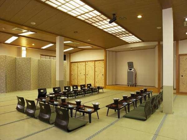 宴会場 「ひめ竹」は70畳間の宴会場となります。