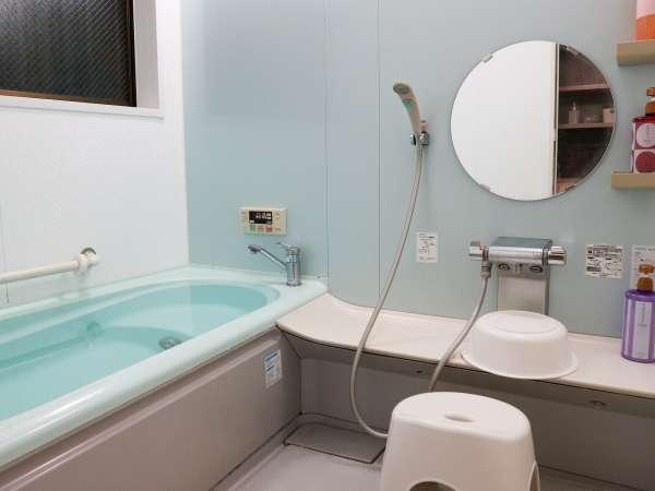 *【共同お風呂】ご家族で仲良く貸し切りもOK!湯船に浸かり、リラックス♪