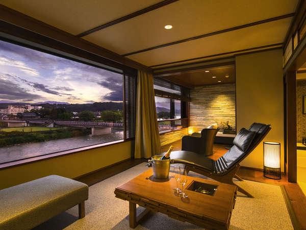 [スタイリッシュルーム] 客室一例 :和室12畳の広めのお部屋