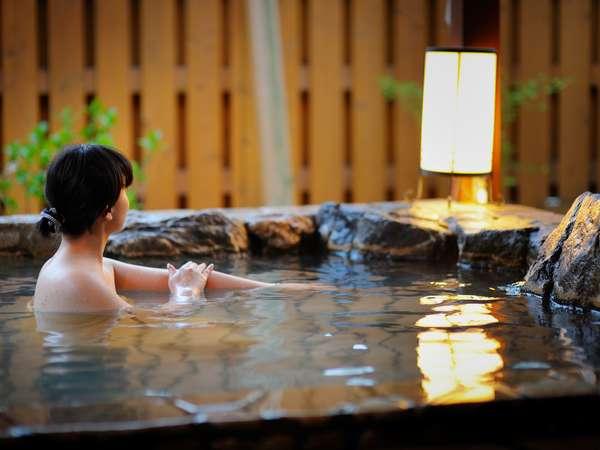 平日だけのお楽しみは、貸切露天風呂