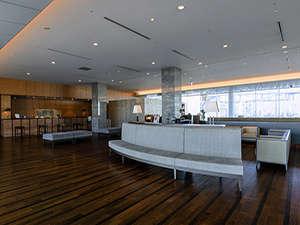 ホテルロビー・フロントは20階にございます