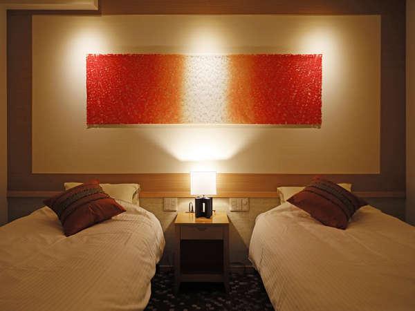 【四季亭特別室】ベッドルーム+和室<禁煙>|リニューアル客室※一例