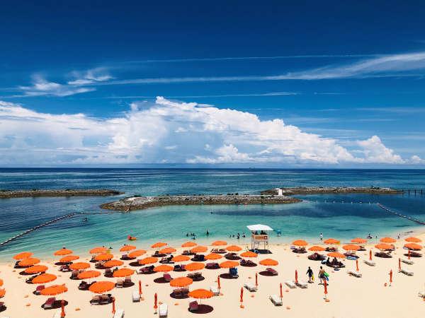環境省の水質調査(令和元年度)で最高ランク「AA」と判定されたサンマリーナビーチ