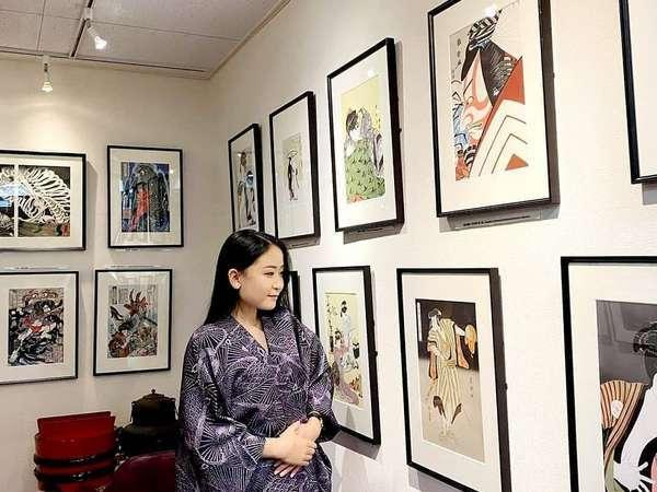 浮世絵ギャラリーで日本の美術をお楽しみください♪