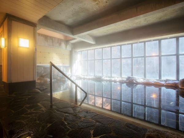 豊沢の湯 冬期間は窓が入ります