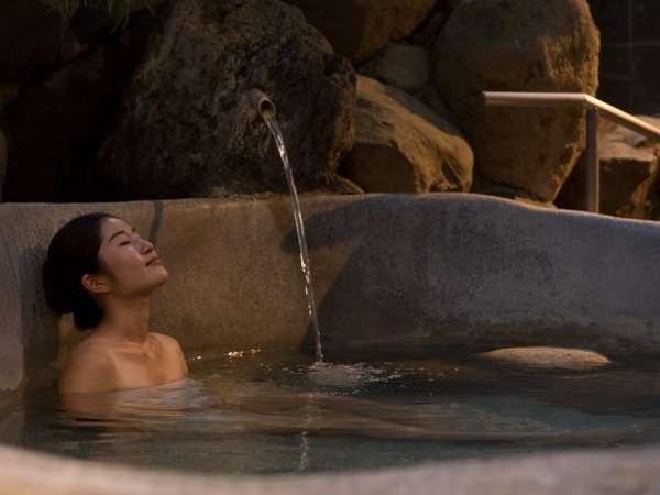 露天付き大浴場「熊野湯」