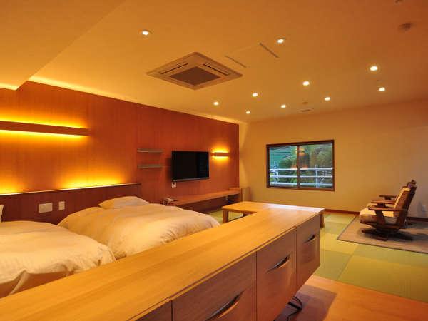 半露天風呂客室(601号室)/客室一例
