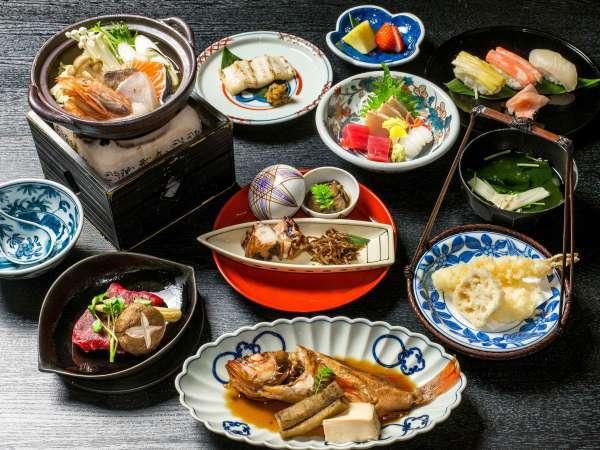 ◆会席料理(イメージ)。レストラン「蔦」では、本格的な和食料理がお楽しみ頂けます。