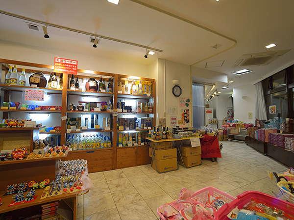 <売店・亀亀家>石垣のおみやげを揃えています
