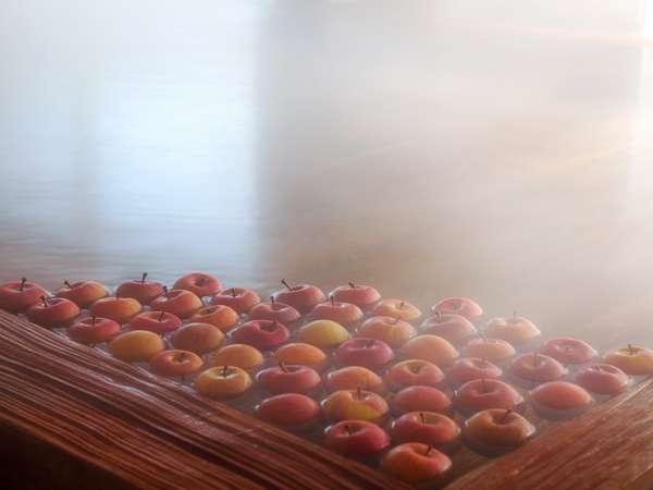 【大浴場】秋から春にかけては青森ならではの「りんご湯」をどうぞ