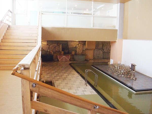 天然温泉大浴場 2種類の泉質の温泉が楽しめる。(写真は大浴場夕月)