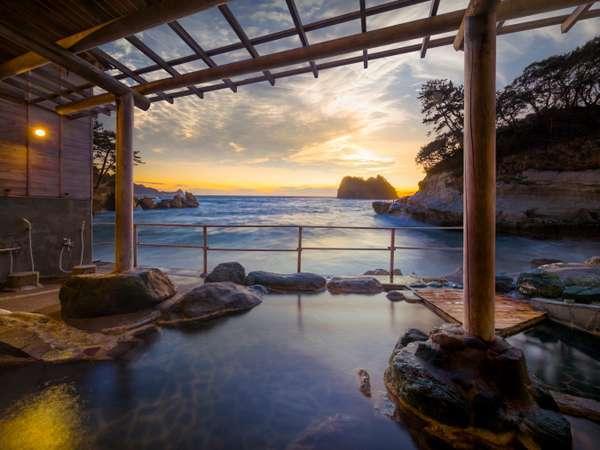 【海辺のかくれ湯 清流】部屋食プランあり 堂ヶ島の海の絶景が楽しめる温泉宿。