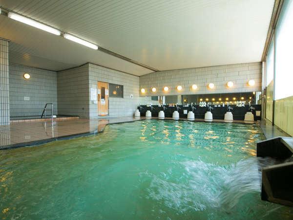 ■八幡ひまわり温泉:朝風呂でリフレッシュ!朝は6時からご利用できます。