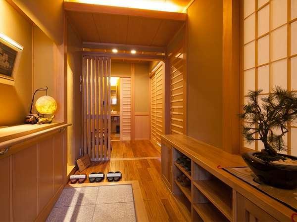 全面バリアフリー客室「胡蝶蘭の間」入り口