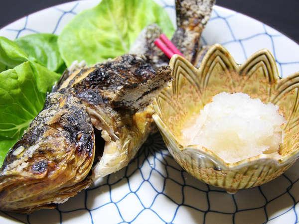 【お料理一例】旬の地魚を香ばしく焼き上げれば、ごはんがどんどん進みます♪