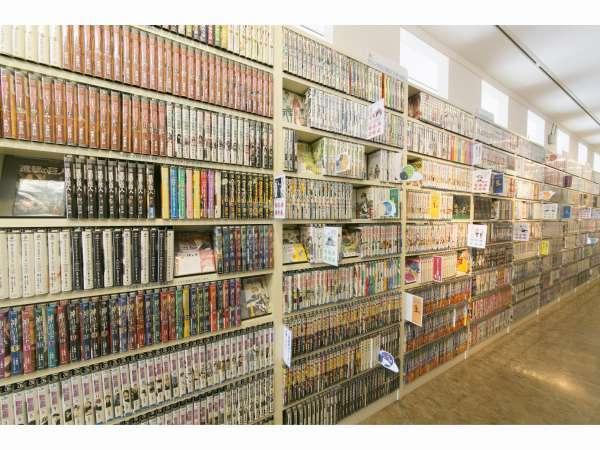【コミックコーナー】5,000冊のマンガで滞在中の時間つぶしに