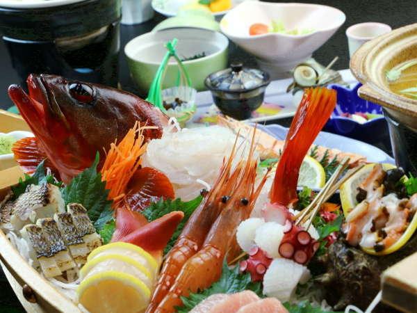 【夕食一例】素材と味にこだわったお料理の数々