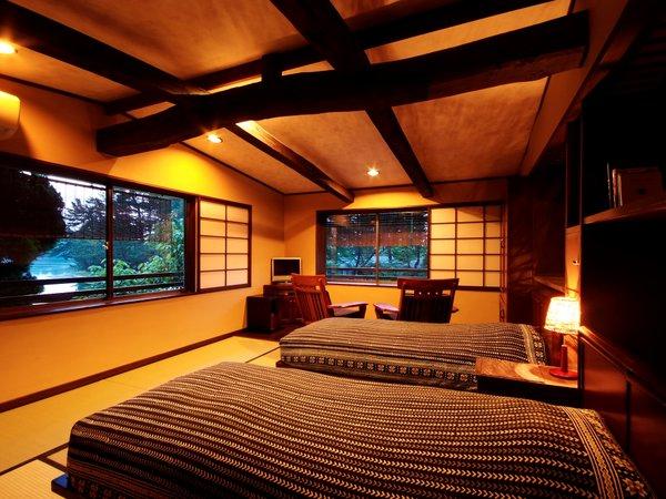 天橋立や廻旋橋を目の前に眺める「和のベッドルーム」