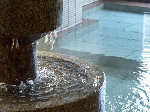 【片山津温泉元湯の宿 かのや光楽苑】片山津で創業百余年。温泉は飲めます♪珍しい高張性の温泉です。