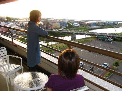 各階テラスから望む景観