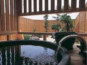 1階客室「凪の間」露天風呂