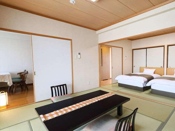 東館和室はコンドミニアムタイプ。ファミリーに人気です。