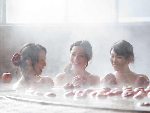 大浴場内「りんご風呂」イメージ