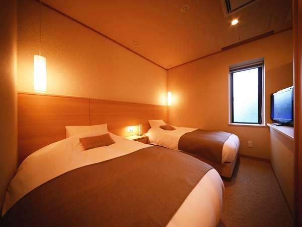 【プレミアム】洋室にはツインベッド★和室には、布団とお好みでおやすみ頂けます♪