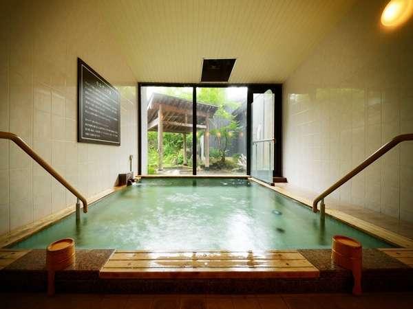 【大浴場】男女入れ替え制で朝夜2か所をご利用頂けます♪サウナ・水風呂・露天風呂と湯を堪能して下さい