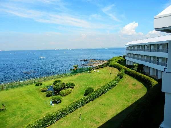 客室からの眺め 東京湾が一望出来ます