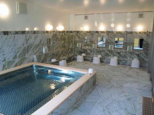 3F浴場。男女交代制です。お泊りのお客様は無料で御利用頂けます。