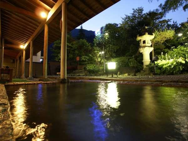 大浴場露天風呂~夜景~
