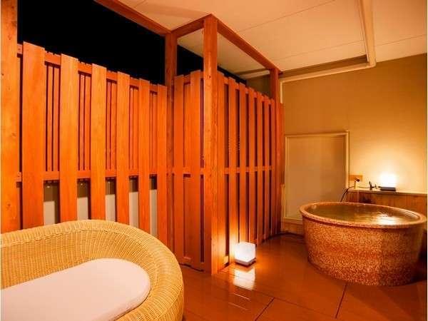 全室露天風呂付の客室