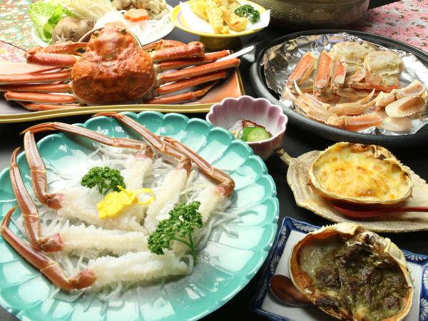 ★冬の味覚の王様!かに・カニ・蟹のオンパレード!調理法によって異なる蟹の旨みを味わえます♪
