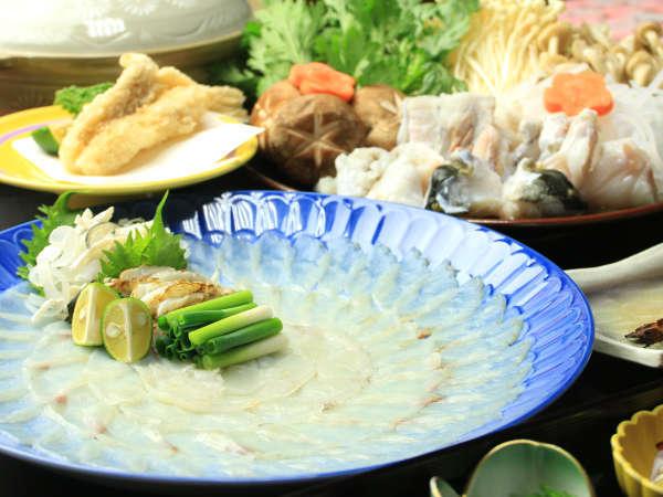 ★若狭ふぐフルコース!様々の調理法で若狭ふぐの美味しさをお届けします♪