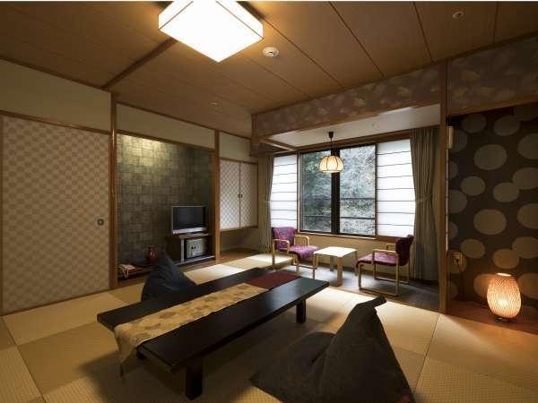 【リニューアル和室】客室毎にインテリアやタイプがやや異なります。